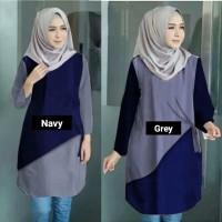 Baju Atasan Wanita Aera Tunik Blouse Baju Muslim Blus muslim