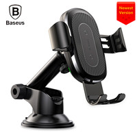 Baseus Car Mount Gravity Qi Wireless Charging Dashboard Holder New
