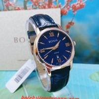 JAM TANGAN WANITA BONIA BNR166-2583 BLUE ROSE GOLD ORIGINAL MURAH
