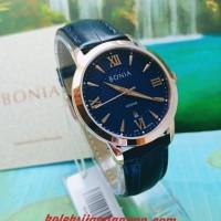 JAM TANGAN WANITA BONIA BNR166-3583 BLUE ROSE GOLD ORIGINAL MURAH