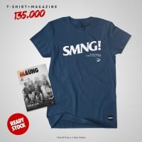 COMBINE PACKAGE Simamaung Tshirt SMNG + Majalah Maung #8