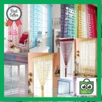 Harga premium tirai gorden jendela pintu tirai benang shower curtain | Pembandingharga.com