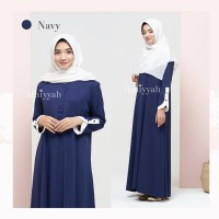 ATHIYYAH ARAFAH DRESS NAVY S GAMIS ONLY POLOS TORY BURCH (MRP LINEN)