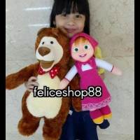 Jual Boneka Masha and The Bear Lucu Terbaru - Asli   Harga Murah ... 095a92459d