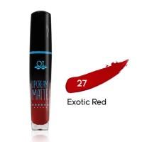 Lipstik Ql Cosmetic Matte Lipcream