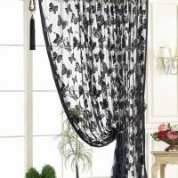 Harga murah hpr357 tirai benang motif kupu kupu rumah jendela kamar | Pembandingharga.com