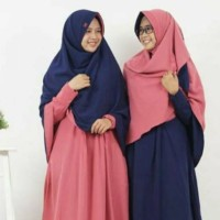 Berry perdana - Khimar Hijab Alila