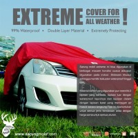 Sarung - Cover Mobil Waterproof 99% Full Outdoor (Tipe Extreme)