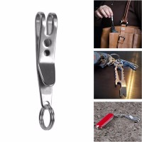 UFO Expand Suspension Clip Key Ring - A261B - Silver