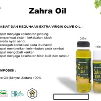 Zaitun Extra Virgin Oil 110ml