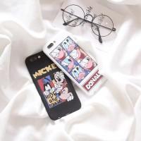 Soft Case Disney Mickey Minnie Mouse Apple iPhone 6 6S 7 8 Plus x 10