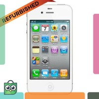 TERBAIK GROSIR Refurbished Apple iPhone 4 CDMA - 16 GB - Putih -