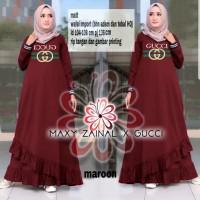 Maxy Zainal Wafel Import/Gamis Gucci/Maxi Gucci/Dress Gucci/Gamis
