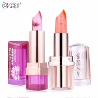 2Pcs/Lot HengFang Black Chrysanthemum Lipstick Temperature-changed