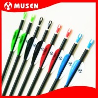 Arrow Carbon Mix MUSEN 6mm Spine 1000 - Anak Panah Karbon 6 mm