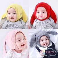 Harga topi kupluk rajut hangat bayi perempuan aksen telinga rusa lucu | Pembandingharga.com