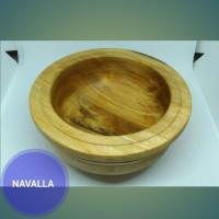 Mangkok kayu bahan kayu laban