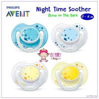 AJ03 Empeng AVENT Night Time Soother 06m Isi 2