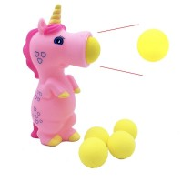 Unicorn Pieces Wild Animal Popper Squeeze Toys Shooting for Children