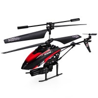 V398 Missile Launching Built-in Gyro Infrared RC Helicopter 3.5