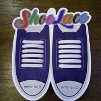 Tali Sepatu Silicon Lazy Lace LLLC004