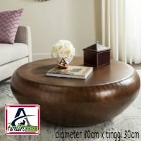 meja minimalis meja tamu belajar kantor meja kayu meja coffe sofa AW
