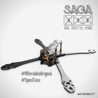 ACROBOT SAGA - Top Plate Parts - FPV Drone Racing Carbon Frame