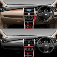 Nissan all new Livina anti gores cover panel AC dan persneling pintu