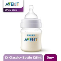 Avent Classic Botol Susu Bayi 1 x 125ml Single Pack