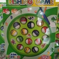 Fishing game main pancing ikan mainan edukasi anak