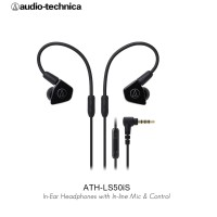 Audio-Technica ATH-LS50iS BK ( BLACK )