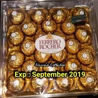 FERRERO ROCHER T24 ( ISI 24PCS ) COKELAT / FERERO T24 / FERRERO MURAH