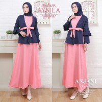 Anjani Hanbok Dress by Aysila gamis wanita muslimah