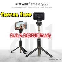 Blitzwolf Bw-Bs3 Sport Tongsis Selfie Stick With Bluetooth Tripod
