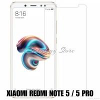 XIAOMI REDMI NOTE 5 PRO TEMPERED GLASS CLEAR REDMI NOTE 5 MI 6X MI A2