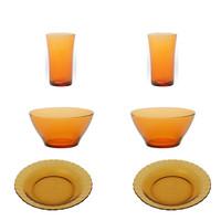 TABLE SET DINNER -PIRING MAKAN DURALEX SET OF 6PCS