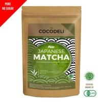 Matcha Green Tea   Greentea Teh Hijau Powder Bubuk   Cocodeli Organic