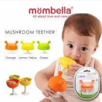 Mombella Mushroom Soothing Teether / Mainan Gigitan Bayi