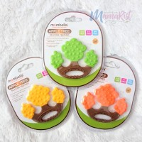 Mombella Apple Tree Silicone Teether / Mainan Gigitan Bayi