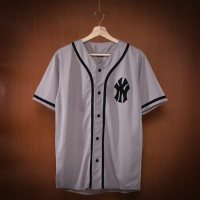 Harga baju baseball pria wanita ny abu list | Pembandingharga.com