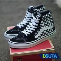 035031efdbc7f1 Sepatu Vans SK8 Checkerboard - Fashion Olahraga Sneaker Running Style