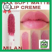 BEST SELLER sale nyx soft matte lip cream warna milan ORIGINAL
