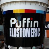 Cat tembok PUFFIN ELASTOMERIC exterior 20L tahan cuaca min 8 tahun