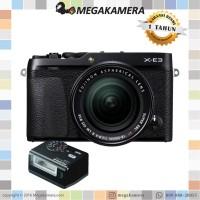 Harga fujifilm x e3 kit xf 18 55mm mirrorless fuji xe3 garansi | Pembandingharga.com