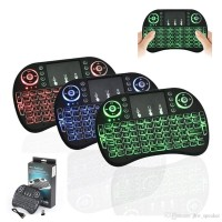2fc7d5592e4 Rii Mini i8 Keyboard Wireless Touchpad RC with 3 COLOR Backlight
