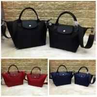 Harga diskon promo murah fashion tas import neo tote nylon s m | Pembandingharga.com