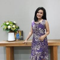 Dress Katun Tulis Lasem uk M Brand Batik Muda BAAD25152