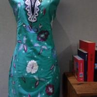 Dress Katun Tulis Cirebon uk XL Brand Batik Muda - BAAD22154