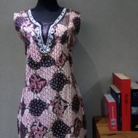Dress Katun Tulis Lasem uk XL Brand Batik Muda BAAD25154