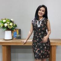 Dress Katun Tulis Lasem uk L Brand Batik Muda BAAD25153